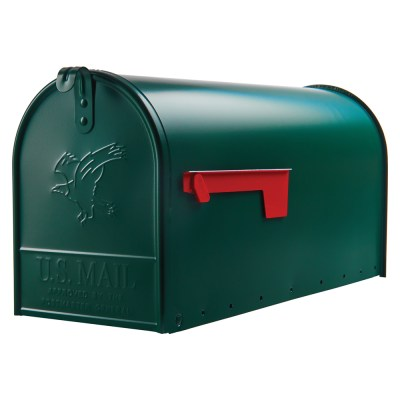 Elite Large Green mailbox