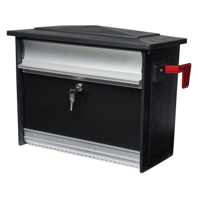 Mailsafe locking mailbox