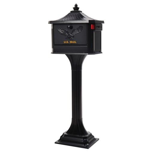 Pedestal Mailbox and Post