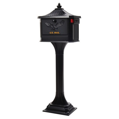 Pedestal Mailbox and Post