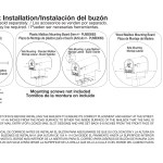 Mailbox Instructions And Assembly Gibraltar Mailboxes