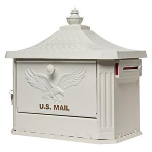 Hamilton Post Mount Mailbox