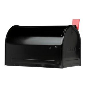 Marshall Locking Mailbox Side View