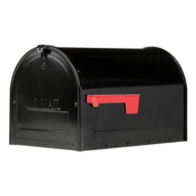 MLM16KB1 Locking Post Mount Mailbox