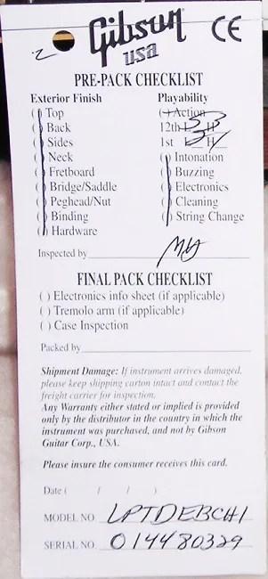 2008 checklist of Ebony
