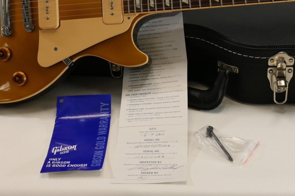 Gibson LP Traditional PRO Split Coil P-90 checklist