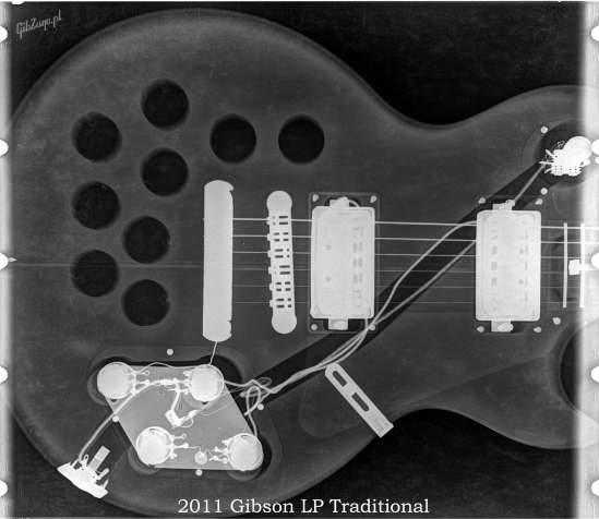 X-ray of the 2011 LP Standard Traditional