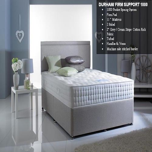 GI Carpets Llanelli Beds DURHAM - FIRM SUPPORT (3)