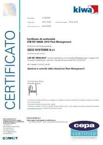 certificato-16636-pest-management Corporate