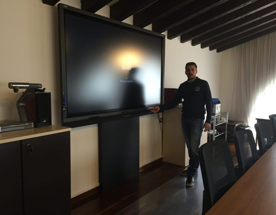 Schermi interattivi per uffici