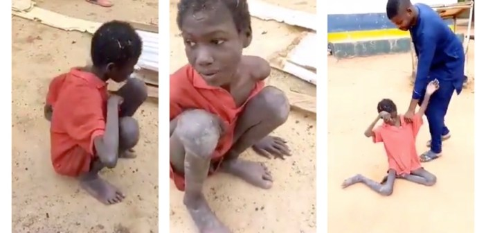 Boy tethered with animals for two years, lived on their food remnants