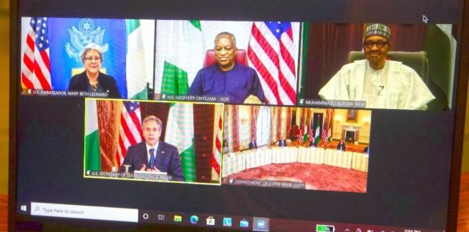 Buhari asks US to relocate Africa command HQ over insecurity