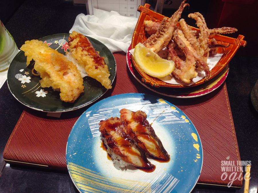 Sushi at Shibuya