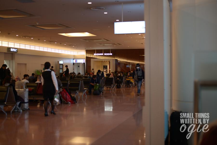 Menginap di Bandara Haneda