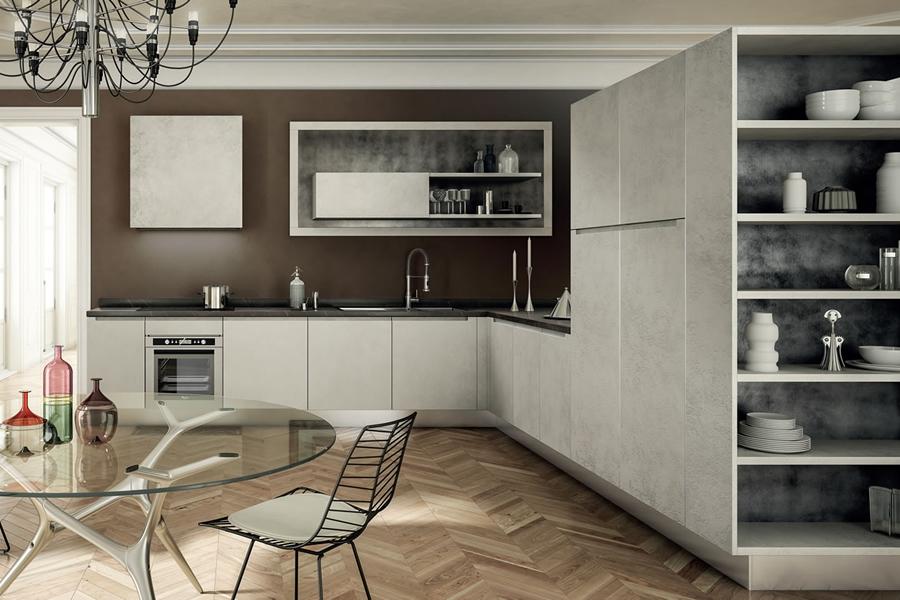Zona cottura e zona lavaggio saranno quindi poste al centro della parete,. Cucine Lineari Gieffe Cucine Una Scelta Di Comodita Gieffe Cucine Le Italiane Dal 1967