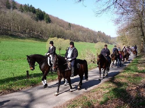 Pferdeprozession 18.04.2010 07