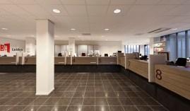 Verbouwing kantoor met baliefunctie Leiden - Gietermans & Van Dijk architecten - DVDH Interieurarchitecten
