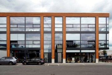 Drie kantoorgebouwen in Amsterdam Noord - Gietermans & Van Dijk architecten - Asterweg Amsterdam