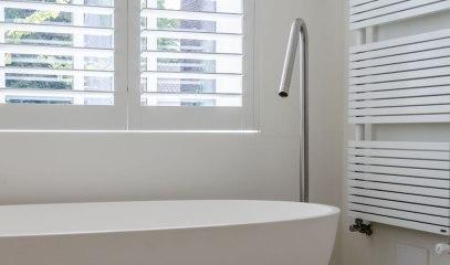 Badkamer detail - Verbouw en uitbreiding woonhuis in Amsterdam - Gietermans & Van Dijk architecten - Serena Silooy Photography