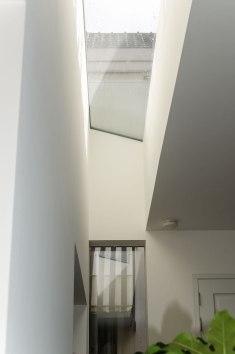 Uitbouw detail - Verbouw en uitbreiding woonhuis in Amsterdam - Gietermans & Van Dijk architecten - Serena Silooy Photography