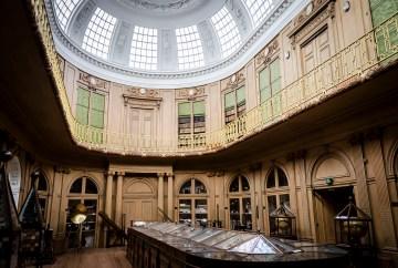 Museumzaal interieur Teylers Museum Haarlem - Toevoeging toiletgroepen Teylers Museum - Gietermans & Van Dijk architecten - Serena Silooy Photography