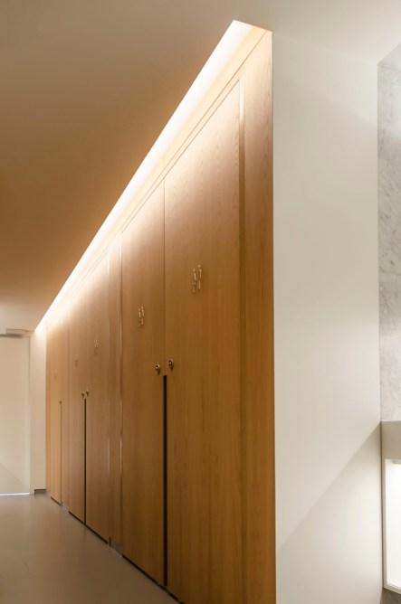 Toiletgroep interieur Teylers Museum Haarlem - Toevoeging toiletgroepen Teylers Museum - Gietermans & Van Dijk architecten - Serena Silooy Photography