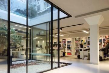 Patio monumentaal grachtenpand Amsterdam - Verbouwing kelder tot kantoorruimte prinsengracht - Gietermans & Van Dijk architecten - Serena Silooy Photography