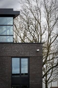 Gevel detail - Nieuwbouw bedrijfsgebouw Amersfoort - Aannemersbedrijf Amersfoort - Elmar Services - Gietermans & Van Dijk Architecten - Serena Silooy Photography