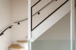 Trap detail - Nieuwbouw huis aan het water in nieuwbouwwijk Amersfoort - Gietermans & Van Dijk Architecten - Serena Silooy Photography