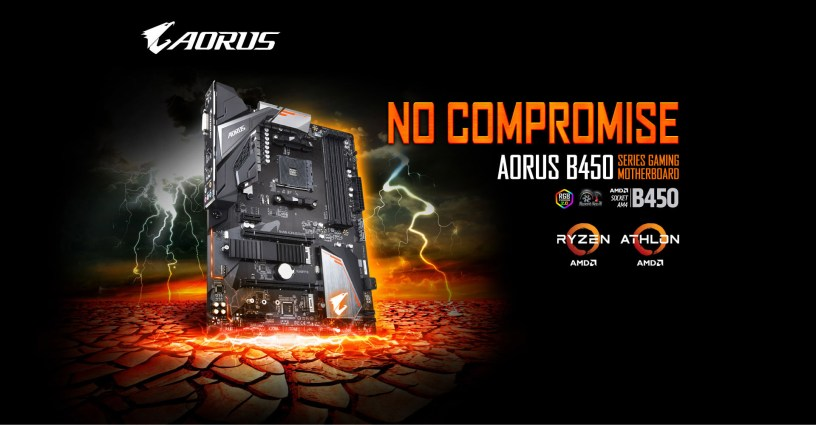 B450 AORUS ELITE (rev. 1.0) | Motherboard - GIGABYTE Global