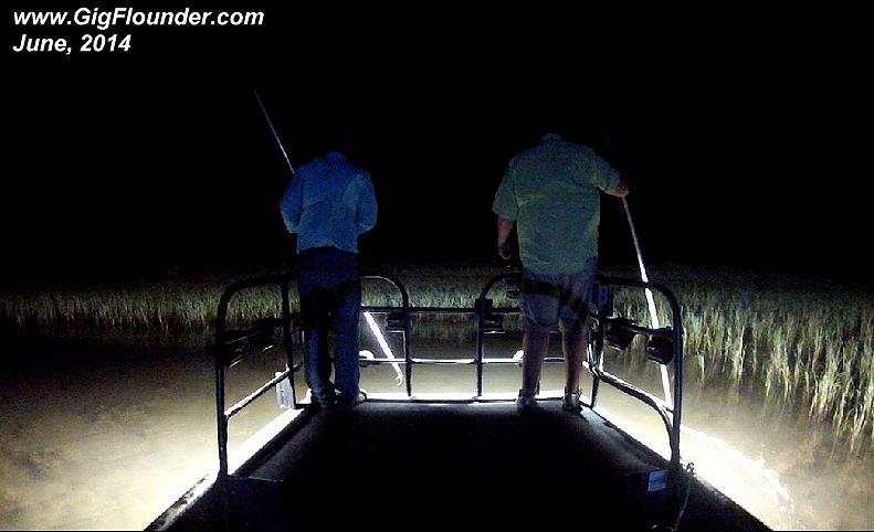 Flounder Gigging Lights