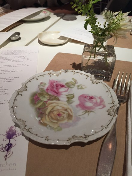 sweet place setting