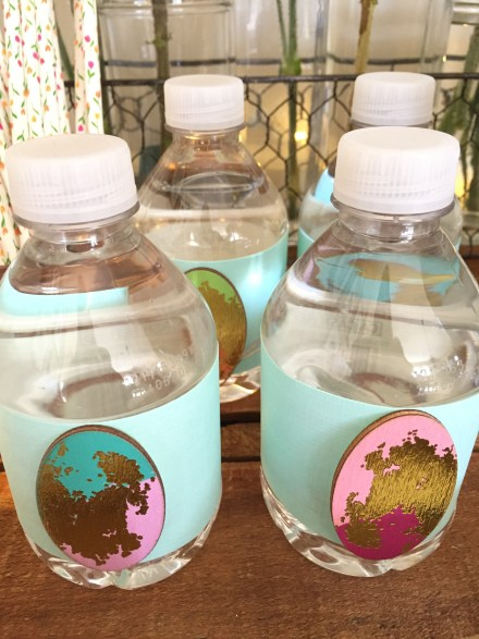 Easter egg water bottles