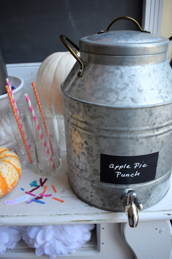 Boho party drinks