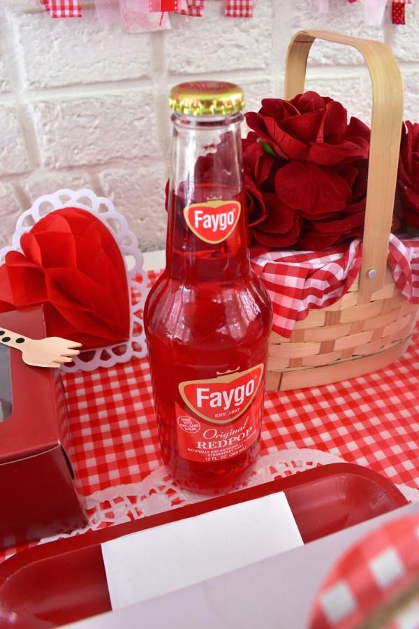 valentine picnic soda