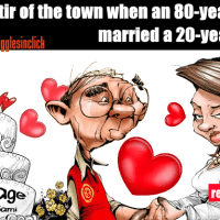 after marriage, every year they were having babies and this old man was very proud about it, until