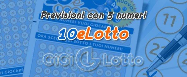 Previsioni 10eLotto del 06-08-2020