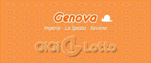 Previsioni sulla ruota Genova