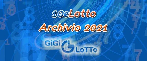 Archivio 10eLotto 2021