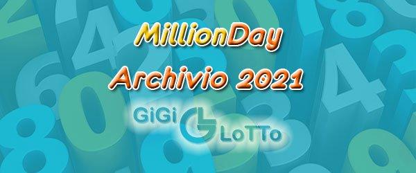 Archivio MillionDAY 2021