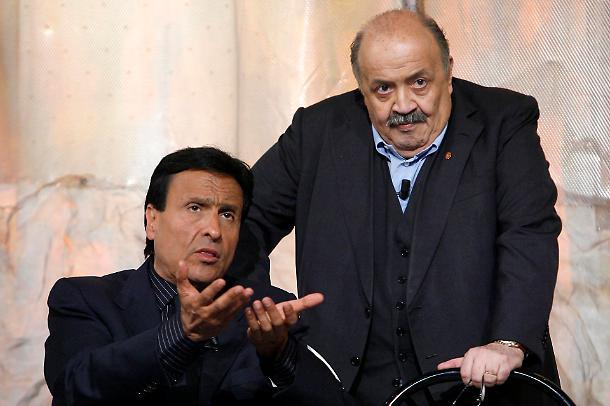 Gigi Sabani e Maurizio Costanzo