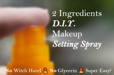 D.I.Y. Makeup Setting Spray