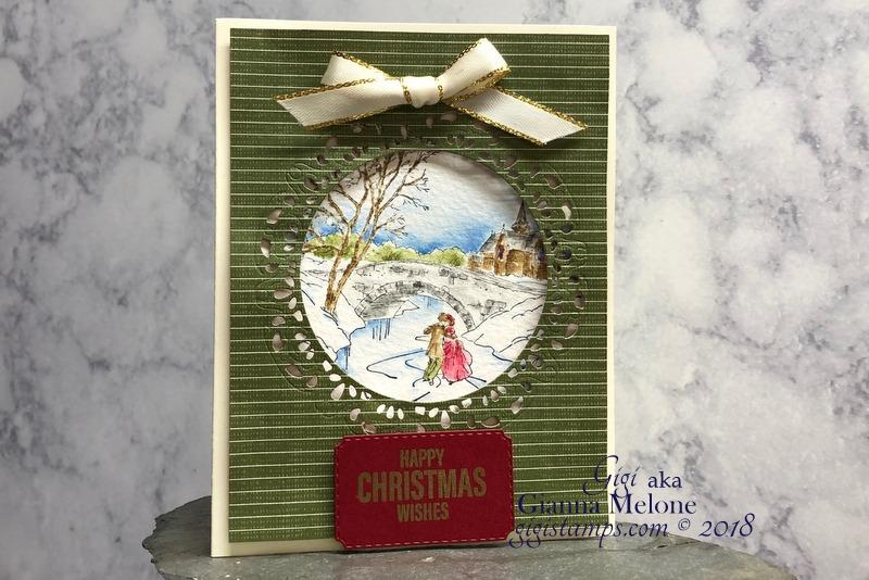 Cambridge Carols, Farmhouse Christmas, Farmhouse Festive Designer Series Paper