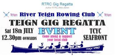 Record Entries for Teign Regatta