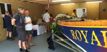 Truro Rowing Club's New Shed
