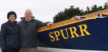 Official Launch of the Cornish Pilot Gig Spurr