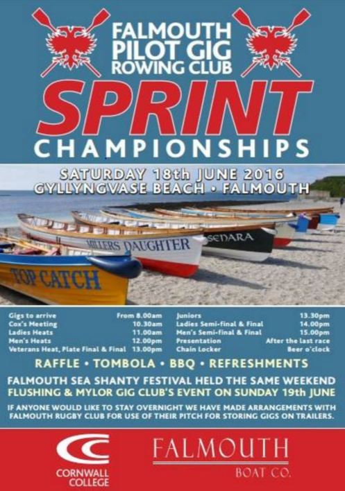 Falmouth sprints 2016 invite