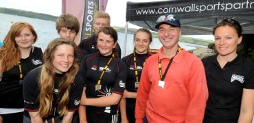 Cornwall School Games Gig Rowing Competition