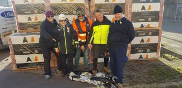 Poole Gig Rowing Club 'Clean Up'