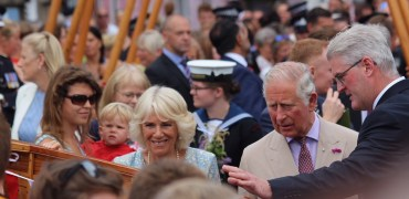 Duke & Duchess Of Cornwall Launch New Fowey Gig During Royal Visit